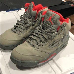 Jordan 5 army green